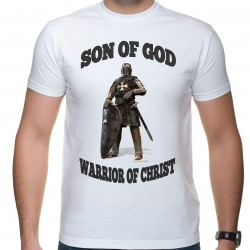 "T-shirt ""Son Of God"" k. biały"